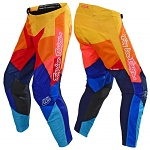 MX kalhoty TroyLeeDesigns GP AIR Pant Jet Navy Orange 2019