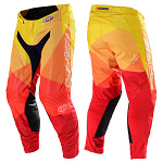 MX kalhoty TroyLeeDesigns GP AIR Pant Jet Yellow Orange 2020