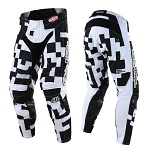 MX kalhoty TroyLeeDesigns GP AIR Pant Maze White Black 2018