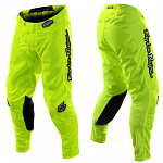 MX kalhoty TroyLeeDesigns GP AIR Pant Mono Flo Yellow 2020