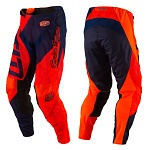 MX kalhoty TroyLeeDesigns GP AIR Pant Quest Flo Orange Navy 2017