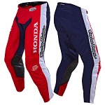 MX kalhoty TroyLeeDesigns GP Pant Honda White Red Navy 2019