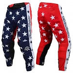 MX kalhoty TroyLeeDesigns GP Pant Independence Navy Red 2019