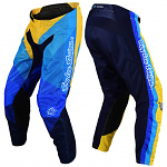 MX kalhoty TroyLeeDesigns GP Air Pant Jet Yellow Blue 2020