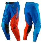 MX kalhoty TroyLeeDesigns GP Pant Quest Cyan Orange 2017
