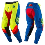 MX kalhoty TroyLeeDesigns SE Air Pant Corsa Flo Yellow 2017