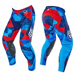 MX kalhoty TroyLeeDesigns SE Air Pant Cosmic Camo Blue 2016