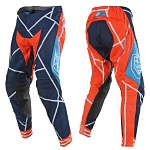 MX kalhoty TroyLeeDesigns SE Air Pant Metric Team KTM Navy Orange 2018