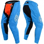 MX kalhoty TroyLeeDesigns SE Air Pant Squadra Cyan Orange 2018