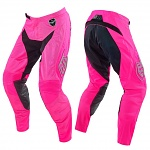 MX kalhoty TroyLeeDesigns SE Air Pant Starburst Pink Black 2016