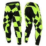 MX kalhoty TroyLeeDesigns SE Pant Joker Flo Yellow Black 2018