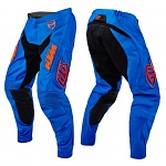 MX kalhoty TroyLeeDesigns SE Pant LE KTM Starburst Blue Orange 2016