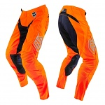 MX kalhoty TroyLeeDesigns SE Pant Starburst Flo Orange Black 2016