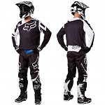 MX komplet FOX 180 Jersey + Pant Race Black 2017