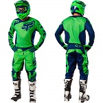 MX komplet FOX 180 Jersey + Pant Race Flo Green 2016