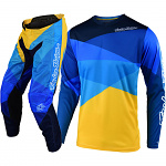 MX komplet TroyLeeDesigns GP Air JET Yellow Blue 2020