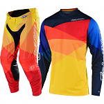 MX komplet TroyLeeDesigns GP Air Jet Yellow Orange 2020