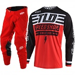 MX komplet TroyLeeDesigns GP Air Mono Bolt Red  2019