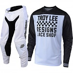 MX komplet TroyLeeDesigns GP Air Mono Raceshop White 2019