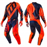 MX komplet TroyLeeDesigns GP Air Quest Flo Orange Navy 2017