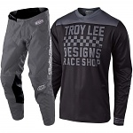 MX komplet TroyLeeDesigns GP Mono Raceshop Grey Set 2019