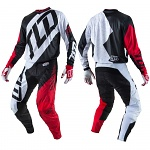 MX komplet TroyLeeDesigns GP Quest Red White Set 2017