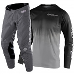 MX komplet TroyLeeDesigns GP Stain´D Black Grey Set 2021