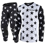 MX komplet TroyLeeDesigns GP Star Black White Set 2018