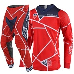 MX komplet TroyLeeDesigns SE AIR Metric Red Navy 2019