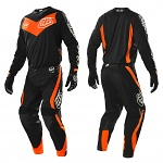 MX komplet TroyLeeDesigns SE Corse Black Flo Orange 2015