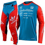 MX komplet TroyLeeDesigns SE ULTRA Adidas Team Limited Edition Ocean Flo Orange 2020