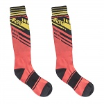 MX ponožky ANSWER Chizel Sock Red Yellow