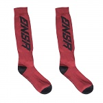 MX ponožky ANSWER Standart Sock Red Black