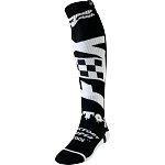 MX ponožky FOX FRI Thin Sock Czar Black White 2019