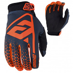 MX rukavice ANSWER AR-1 Glove Flo Orange Charcoal 2019