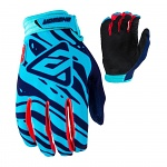 MX rukavice ANSWER AR-3 Glove Astana Indigo Red 2019