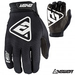 MX rukavice ANSWER AR-3 Glove Black 2019