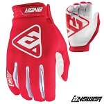 MX rukavice ANSWER AR-3 Glove Red 2019
