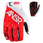 MX rukavice ANSWER Elite A2 Glove Halo Red White 2017
