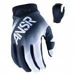 MX rukavice ANSWER Elite Glove Black White 2017