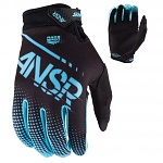 MX rukavice ANSWER Syncron Glove Blue Black 2017