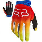 MX rukavice FOX Dirtpaw FYCE Glove Blue Red 2020