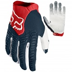 MX rukavice FOX Pawtector Glove Navy Red 2018