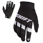 MX rukavice SHIFT Whit3 Air Glove Black White 2017