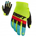 MX rukavice SHIFT Whit3 Air Glove Flo Yellow 2017