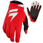 MX rukavice SHIFT Whit3 Air Glove Red 2019