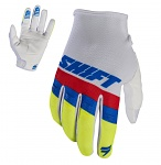 MX rukavice SHIFT Whit3 Air Glove White 2017