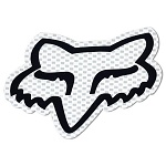 "Nálepka FOX Racing Head Sticker 7"" White"