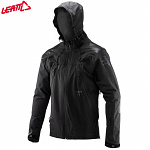 Nepromokavá bunda na kolo Leatt DBX 5.0 All-Mountain Jacket Black 2020