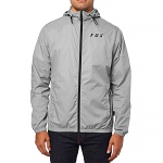 Pánská bunda FOX Attacker Windbreaker Jacket Steel Grey